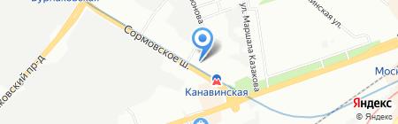 Podguзз.ru на карте Нижнего Новгорода