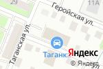 Схема проезда до компании Таганка в Нижнем Новгороде