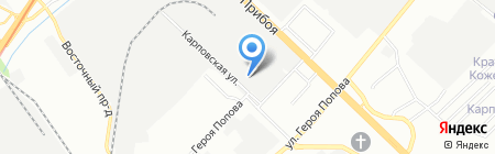 АКБ-ресурс на карте Нижнего Новгорода