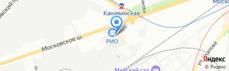 MMA Imperia на карте Нижнего Новгорода