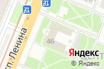 Схема проезда до компании Финансовое управление по Ленинскому району в Нижнем Новгороде
