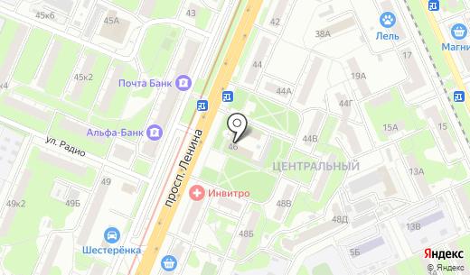 Территориальная приемная главы администрации г. Нижнего Новгорода по Ленинскому району. Схема проезда в Нижнем Новгороде