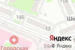 Схема проезда до компании Эники-Беники в Нижнем Новгороде