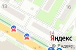 Схема проезда до компании ТОП АВТО в Нижнем Новгороде