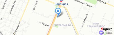 Марина ТУР на карте Нижнего Новгорода