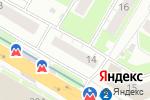 Схема проезда до компании Техно-Сварка в Нижнем Новгороде