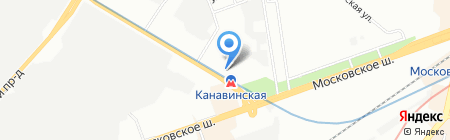 Викар-Авто на карте Нижнего Новгорода
