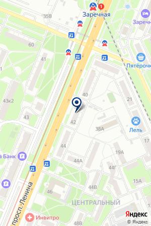 МАГАЗИН ЭНЕРГИЯ на карте Нижнего Новгорода