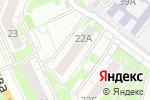 Схема проезда до компании Пудра в Нижнем Новгороде