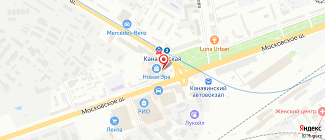 Карта расположения пункта доставки 220 вольт в городе Нижний Новгород