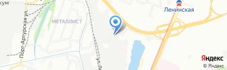 Гермес на карте Нижнего Новгорода