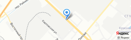 ВCC на карте Нижнего Новгорода