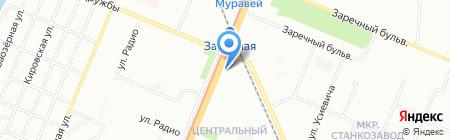 Зетта Страхование на карте Нижнего Новгорода