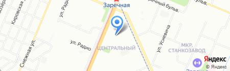 Бонитет на карте Нижнего Новгорода