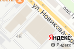 Схема проезда до компании БЦР Моторс в Нижнем Новгороде