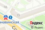 Схема проезда до компании М.Видео в Нижнем Новгороде