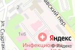 Схема проезда до компании Инфекционная больница №9 г. Нижнего Новгорода в Нижнем Новгороде