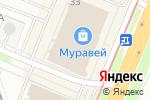 Схема проезда до компании D mari в Нижнем Новгороде