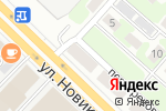 Схема проезда до компании Теплострой в Нижнем Новгороде
