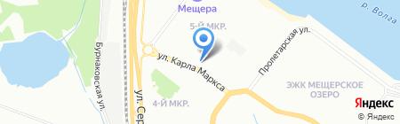 Золотое время на карте Нижнего Новгорода