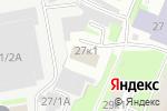 Схема проезда до компании Ладошки в Нижнем Новгороде
