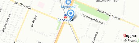 Европа на карте Нижнего Новгорода