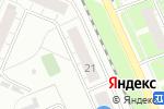 Схема проезда до компании Шарлин в Нижнем Новгороде