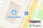 Схема проезда до компании Киоск по продаже пончиков в Нижнем Новгороде