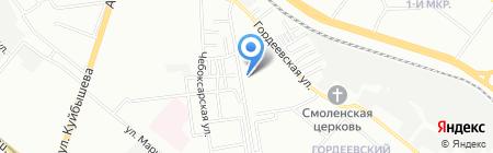 ШТРИХ на карте Нижнего Новгорода