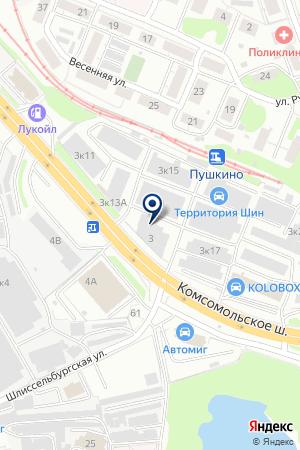 ОХРАННОЕ АГЕНТСТВО АФОН на карте Нижнего Новгорода