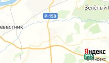 Отели города Вязовка на карте