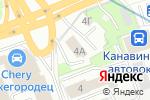 Схема проезда до компании Emerald event в Нижнем Новгороде