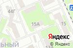 Схема проезда до компании ТСЖ №5 в Нижнем Новгороде
