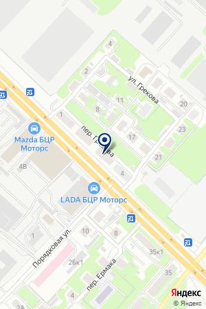 ПКФ ГОСТХИМПРОМ на карте Нижнего Новгорода