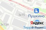 Схема проезда до компании СпецО в Нижнем Новгороде