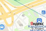 Схема проезда до компании Мега-авто в Нижнем Новгороде
