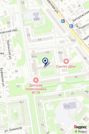 КАНАВИНСКИЙ на карте Нижнего Новгорода