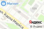 Схема проезда до компании Страховой брокер в Нижнем Новгороде