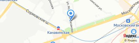 Аркадия на карте Нижнего Новгорода