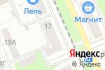 Схема проезда до компании Секонд-хенд одежды на ул. Космонавта Комарова в Нижнем Новгороде
