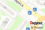 Схема проезда до компании Киоск по продаже фруктов и овощей в Нижнем Новгороде