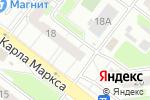 Схема проезда до компании Арт-дуэт в Нижнем Новгороде