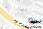 Схема проезда до компании Парадигма в Нижнем Новгороде