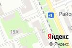 Схема проезда до компании ЮСТА в Нижнем Новгороде