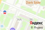 Схема проезда до компании ВБренде в Нижнем Новгороде