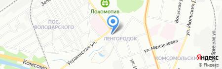 АвтоЛик на карте Нижнего Новгорода