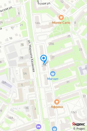 Дом 27А по Московскому шоссе на Яндекс.Картах