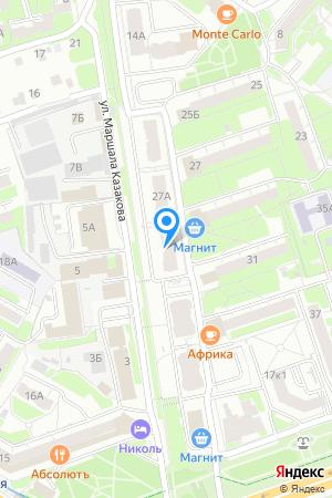 Дом 29А по Московскому шоссе на Яндекс.Картах