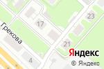 Схема проезда до компании DoorHan Поволжье в Нижнем Новгороде