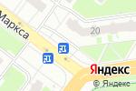 Схема проезда до компании Продовольственный магазин в Нижнем Новгороде